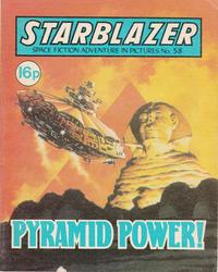 Cover Thumbnail for Starblazer (D.C. Thomson, 1979 series) #58