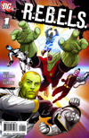 Cover for R.E.B.E.L.S. (DC, 2009 series) #1