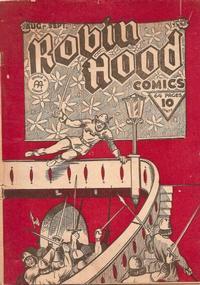 Cover Thumbnail for Robin Hood Comics (Anglo-American Publishing Company Limited, 1941 series) #v1#10