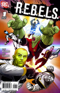 Cover Thumbnail for R.E.B.E.L.S. (DC, 2009 series) #1
