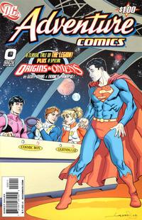 Cover Thumbnail for Adventure Comics (DC, 2009 series) #0