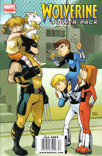 Cover Thumbnail for Wolverine and Power Pack (Marvel, 2009 series) #1