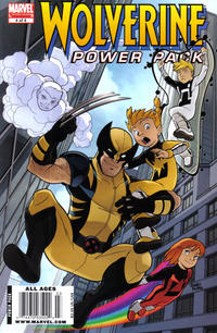 Cover Thumbnail for Wolverine and Power Pack (Marvel, 2009 series) #4