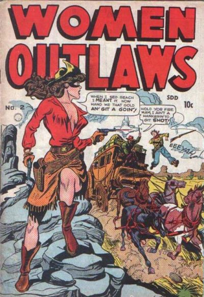 Cover for Women Outlaws (Superior, 1948 ? series) #2