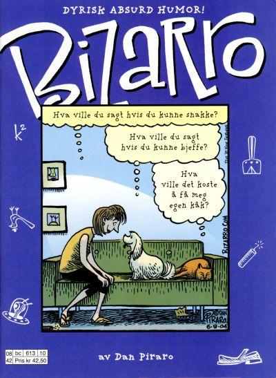 Cover for Bizarro [Bizarro sommeralbum] (Hjemmet / Egmont, 2005 series) #[2008]