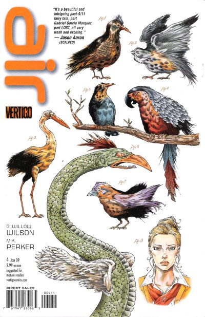 Cover for Air (DC, 2008 series) #4