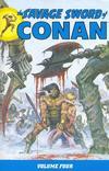 Cover for Savage Sword of Conan (Dark Horse, 2007 series) #4