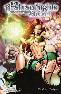 Cover Thumbnail for 1001 Arabian Nights: The Adventures of Sinbad (Zenescope Entertainment, 2008 series) #5
