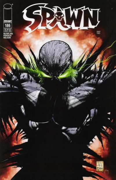 Cover for Spawn (Image, 1992 series) #186