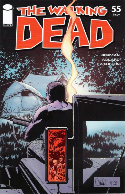 Cover for The Walking Dead (Image, 2003 series) #55