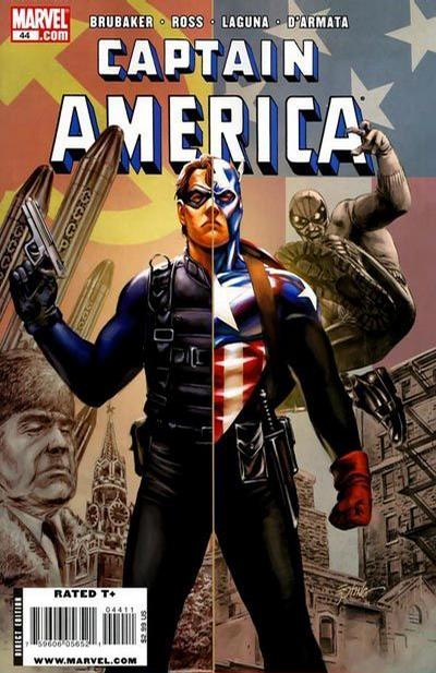 Cover for Captain America (Marvel, 2005 series) #44 [Variant Cover]