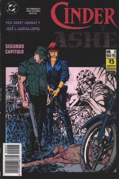 Cover for Cinder y Ashe (Zinco, 1990 series) #2