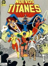 Cover Thumbnail for Nuevos Titanes (Zinco, 1984 series) #1