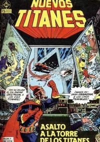 Cover Thumbnail for Nuevos Titanes (Zinco, 1984 series) #7