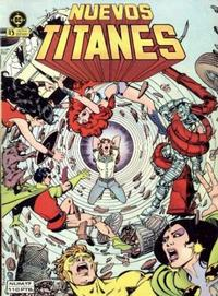 Cover Thumbnail for Nuevos Titanes (Zinco, 1984 series) #17