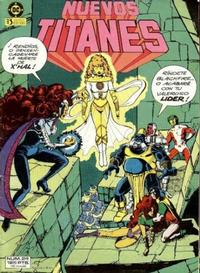 Cover Thumbnail for Nuevos Titanes (Zinco, 1984 series) #24