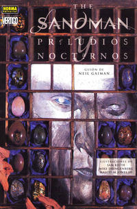 Cover Thumbnail for Colección Vertigo (NORMA Editorial, 1997 series) #93 - The Sandman: Preludios y Nocturnos [Primera Edición/Tapa Blanda]