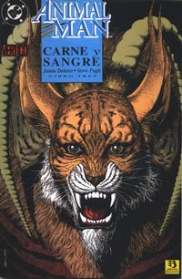 Cover Thumbnail for Animal Man. Carne Y Sangre (Zinco, 1993 series) #3