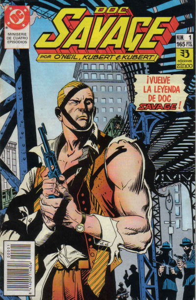 Cover for Doc Savage (Zinco, 1990 series) #1
