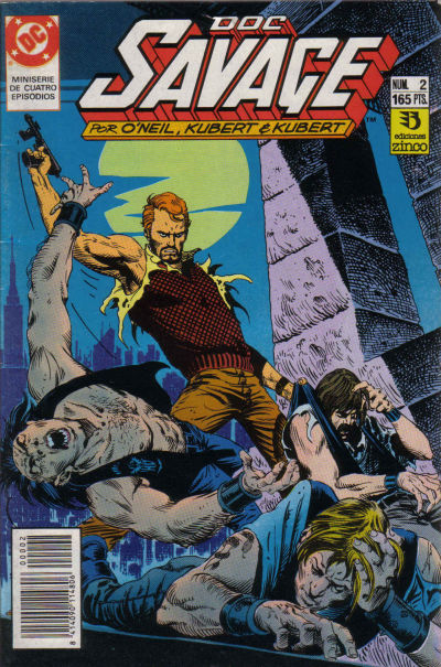 Cover for Doc Savage (Zinco, 1990 series) #2
