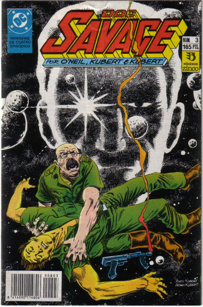 Cover for Doc Savage (Zinco, 1990 series) #3