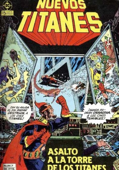 Cover for Nuevos Titanes (Zinco, 1984 series) #7