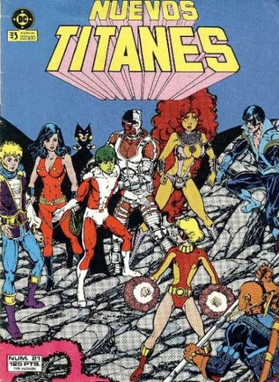 Cover for Nuevos Titanes (Zinco, 1984 series) #21