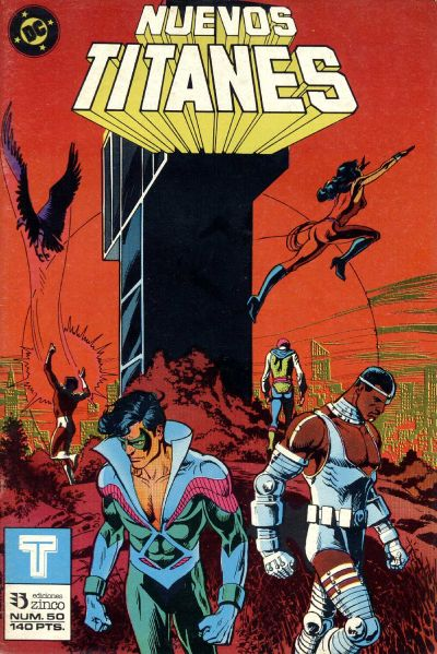 Cover for Nuevos Titanes (Zinco, 1984 series) #50