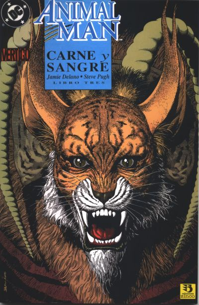 Cover for Animal Man. Carne Y Sangre (Zinco, 1993 series) #3
