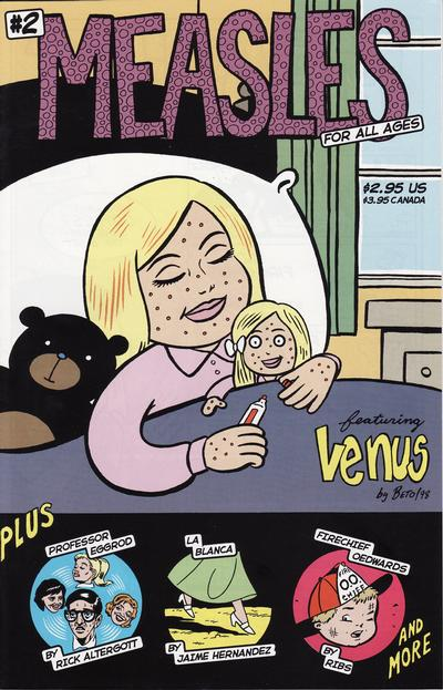 Cover for Measles (Fantagraphics, 1998 series) #2