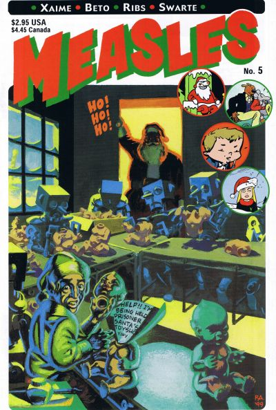 Cover for Measles (Fantagraphics, 1998 series) #5