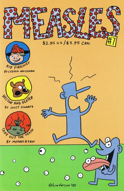 Cover for Measles (Fantagraphics, 1998 series) #7