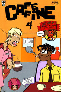 Cover Thumbnail for Caffeine (Slave Labor, 1996 series) #4