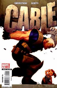 Cover Thumbnail for Cable (Marvel, 2008 series) #9 [Direct Edition]