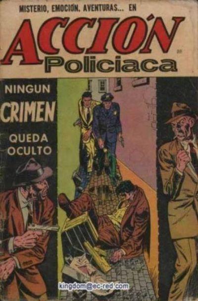 Cover for Acción Policiaca (Editora de Periódicos La Prensa S.C.L., 1951 series) #88