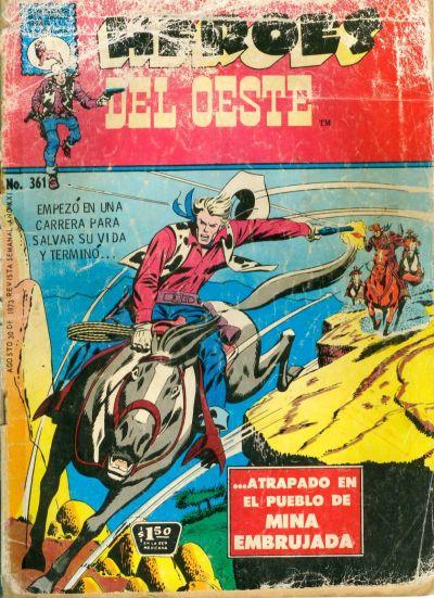 Cover for Héroes del Oeste (Editora de Periódicos La Prensa S.C.L., 1951 series) #361
