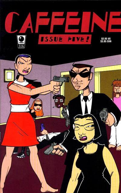 Cover for Caffeine (Slave Labor, 1996 series) #5