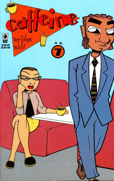 Cover for Caffeine (Slave Labor, 1996 series) #7