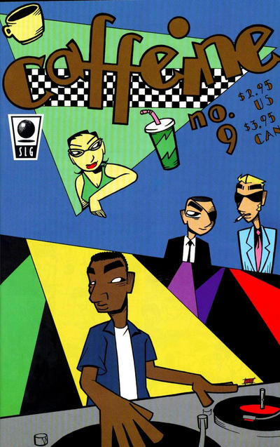 Cover for Caffeine (Slave Labor, 1996 series) #9