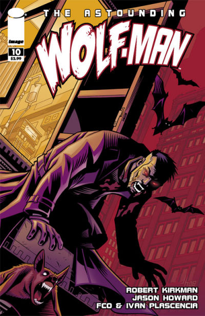 Cover for The Astounding Wolf-Man (Image, 2007 series) #10