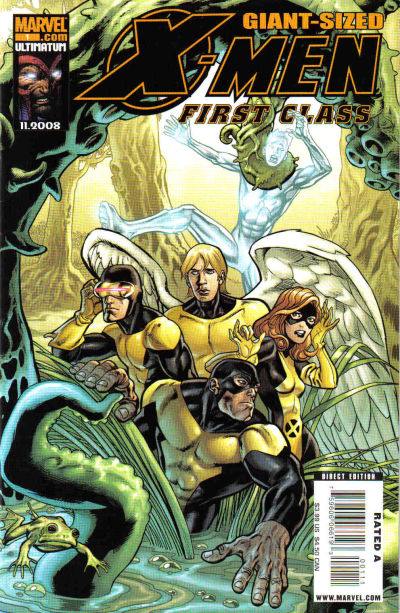 Cover for X-Men: First Class Giant-Size Special (Marvel, 2008 series) #1