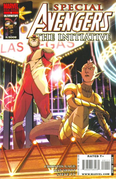 Cover for Avengers: The Initiative Special (Marvel, 2009 series) #1