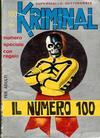 Cover for Kriminal (Editoriale Corno, 1964 series) #100