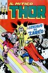 Cover for Il Mitico Thor (Editoriale Corno, 1971 series) #10