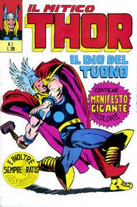 Cover Thumbnail for Il Mitico Thor (Editoriale Corno, 1971 series) #1