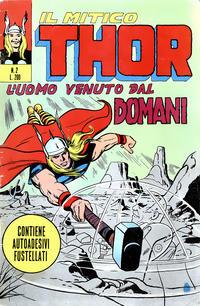 Cover Thumbnail for Il Mitico Thor (Editoriale Corno, 1971 series) #2