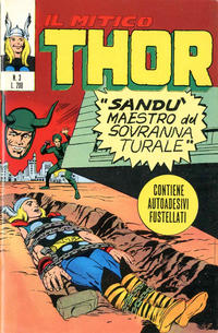Cover Thumbnail for Il Mitico Thor (Editoriale Corno, 1971 series) #3