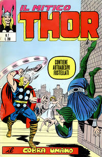 Cover Thumbnail for Il Mitico Thor (Editoriale Corno, 1971 series) #7