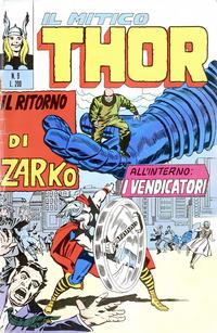 Cover Thumbnail for Il Mitico Thor (Editoriale Corno, 1971 series) #9