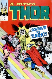 Cover Thumbnail for Il Mitico Thor (Editoriale Corno, 1971 series) #10